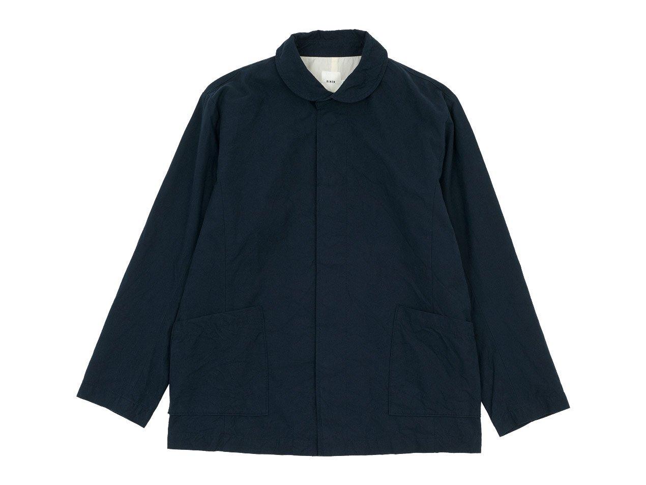RINEN 40/2高密度平織 ガーデンジャケット 05ネイビー 〔メンズ〕
