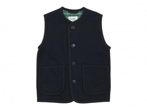 Charpentier de Vaisseau Tito Wool Button Vest