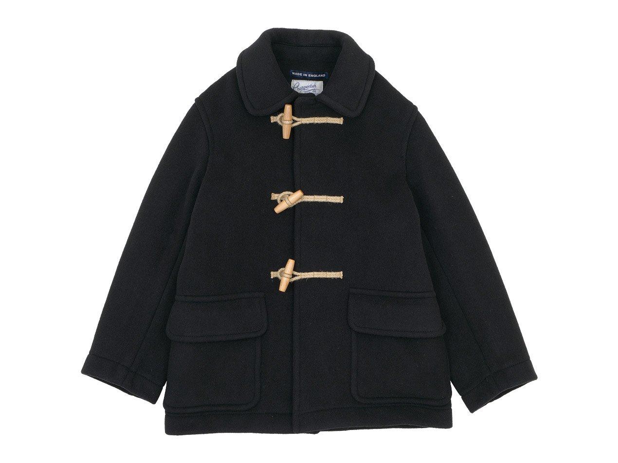 Charpentier de Vaisseau Tate London Tradition Duffle Coat Short BLACK
