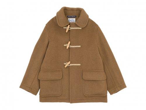 Charpentier de Vaisseau Tate London Tradition Duffle Coat Short BEIGE
