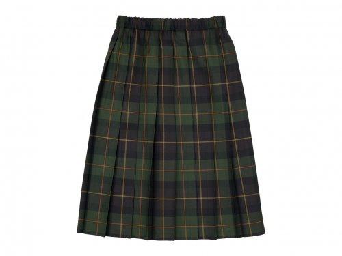 Charpentier de Vaisseau Bona O'neil of Dublin プリーツスカート GREEN x BROWN CHECK