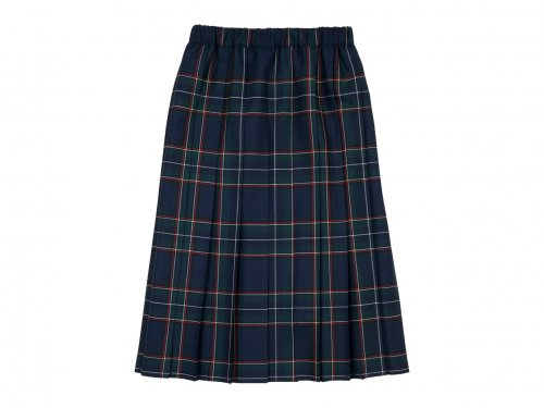 Charpentier de Vaisseau Bride O'neil of Dublin プリーツスカート Long GREEN x NAVY CHECK