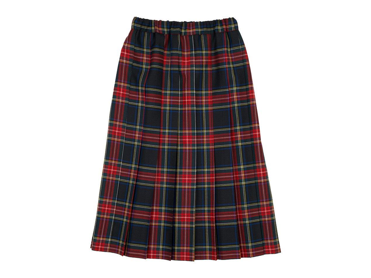Charpentier de Vaisseau Bride O'neil of Dublin プリーツスカート Long RED x BLACK CHECK