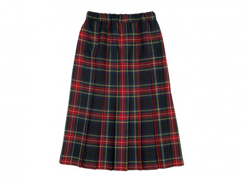 Charpentier de Vaisseau Bride O'neil of Dublin プリーツスカート Long RED x BLACK CHECK