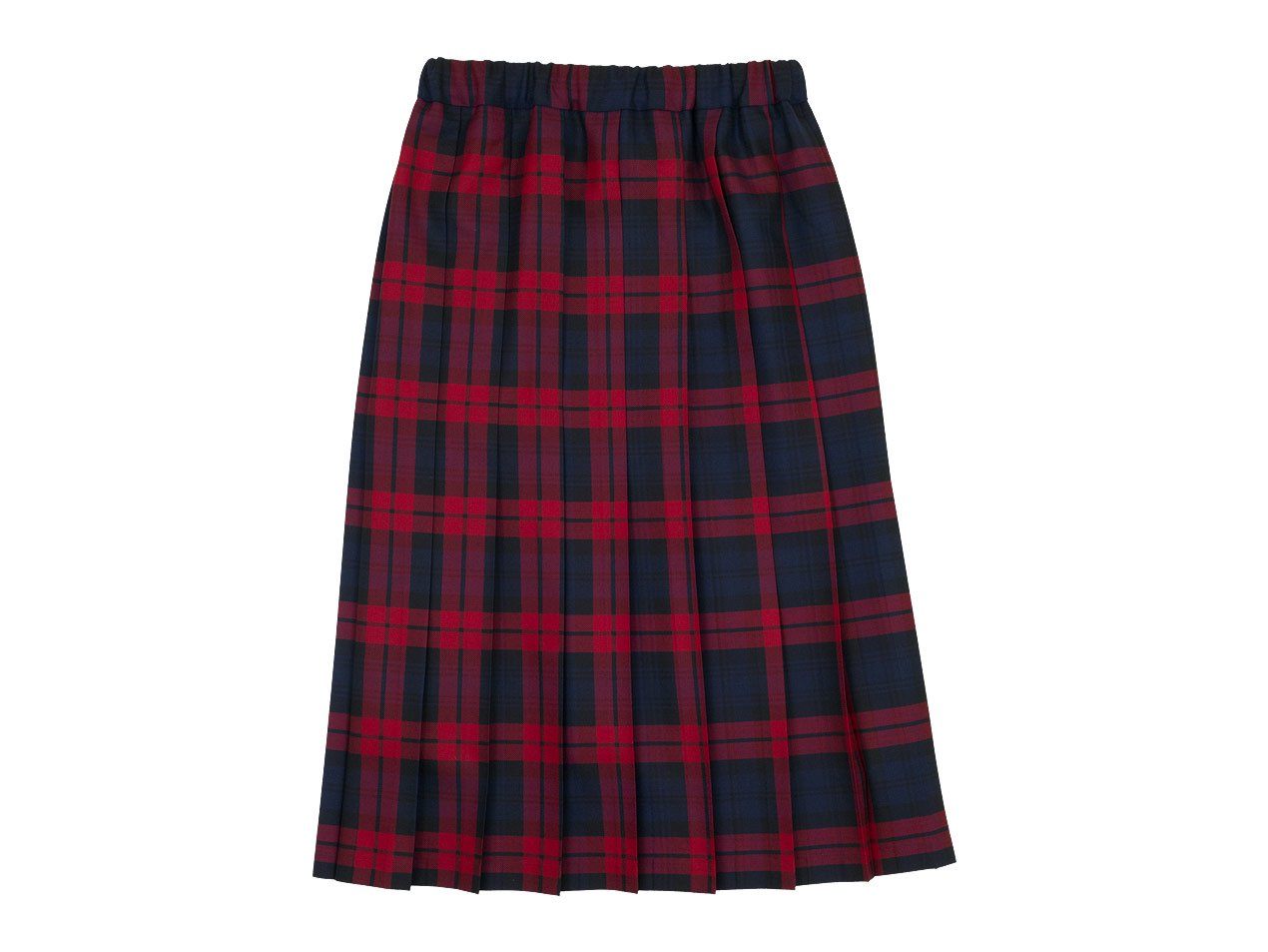 Charpentier de Vaisseau Bride O'neil of Dublin プリーツスカート Long NAVY x RED CHECK