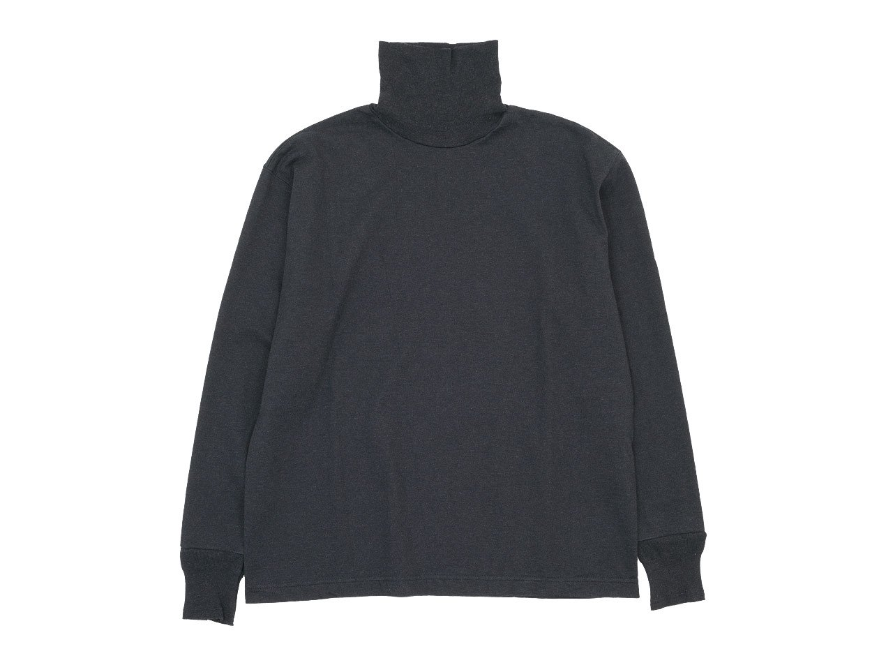 TOUJOURS Turtle Neck Pullover HEATHER BLACK 【LM31XC09】