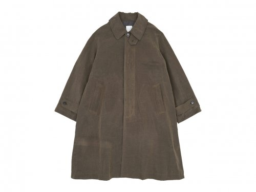 TOUJOURS Oversized Flared Soutien Collar Coat