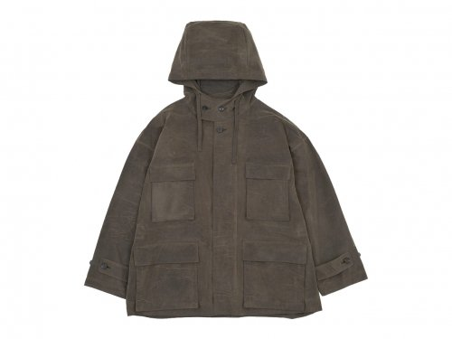 TOUJOURS Field Parka OLIVE BROWN【VM31HJ08】