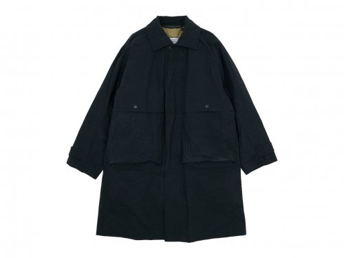 ENDS and MEANS Journalist Coat BLACK