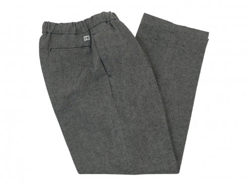 ENDS and MEANS W/L Relax Fit Trousers BLACK