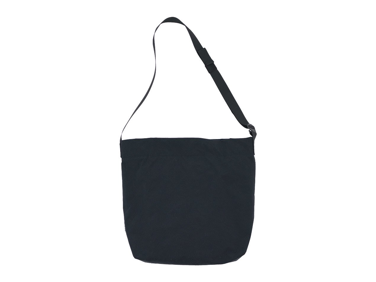 ENDS and MEANS Shoulder Bag BLACK