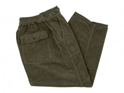 ordinary fits JAMES PANTS corduroy KHAKI