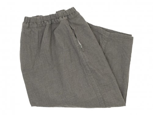 ordinary fits ball pants wool GRAY BEIGE