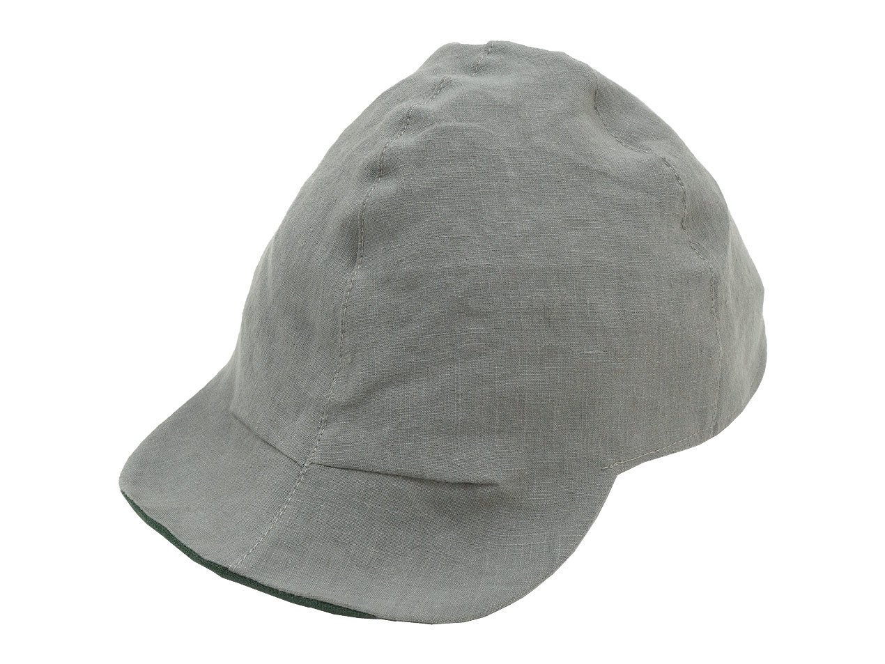 TATAMIZE WORK CAP NEW GRAY LINEN