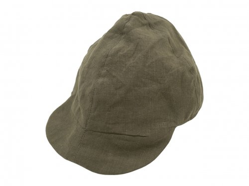 TATAMIZE WORK CAP NEW BROWN LINEN