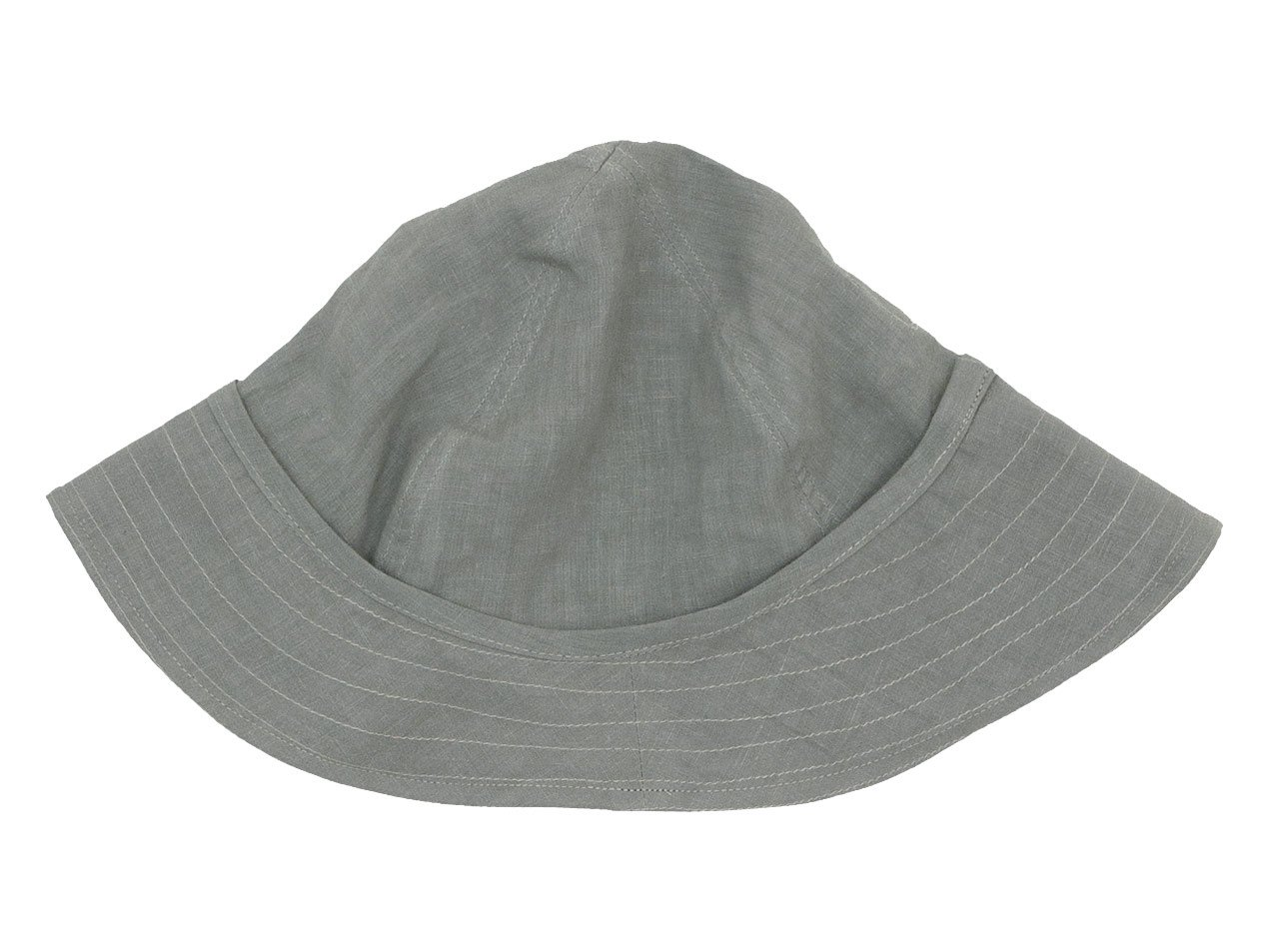 TATAMIZE F HAT GRAY LINEN