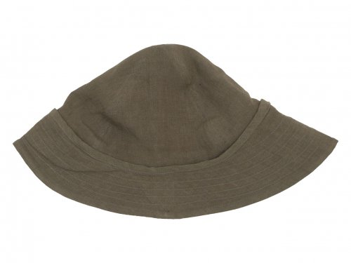 TATAMIZE F HAT BROWN LINEN