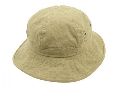 MHL. VINTAGE COTTON POPLIN HAT 040BEIGE