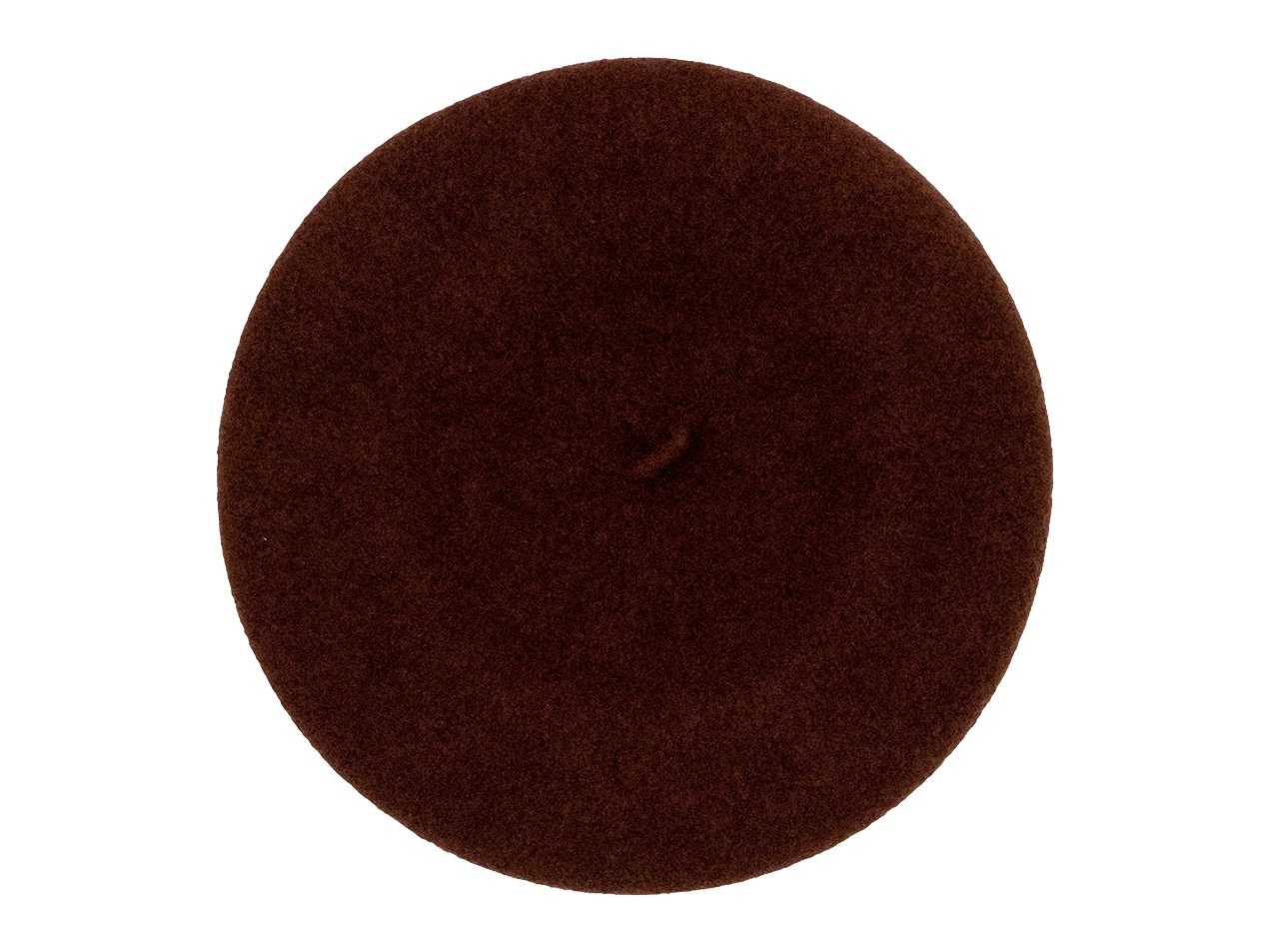 MHL. WOOL BERET 050BROWN