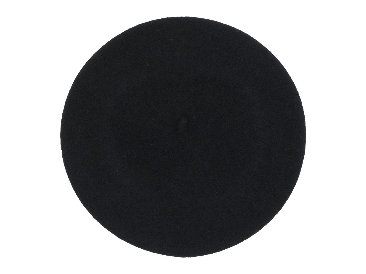 MHL. WOOL BERET 010BLACK