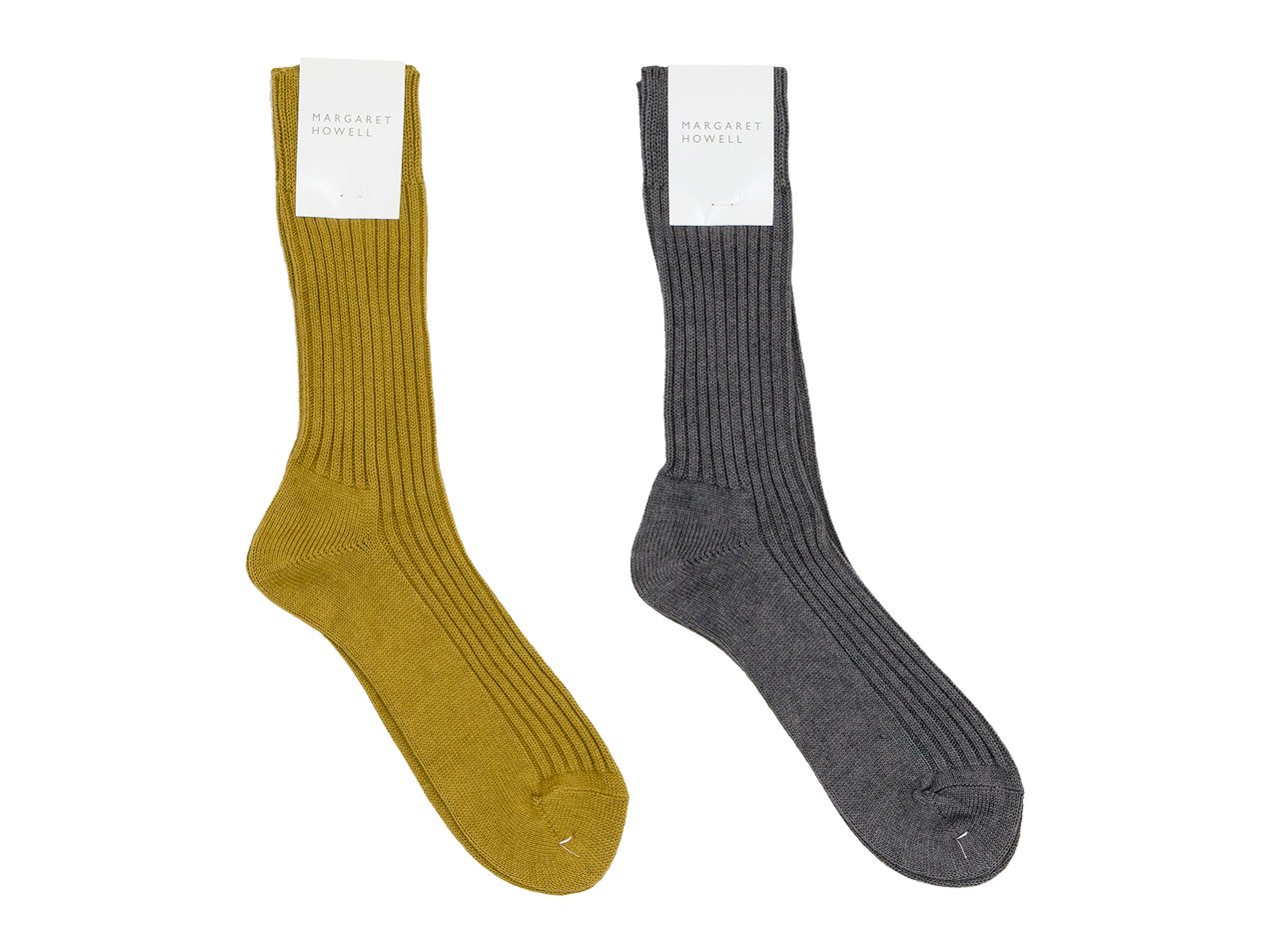 MARGARET HOWELL COTTON CASHMERE SOCKS 〔メンズ〕