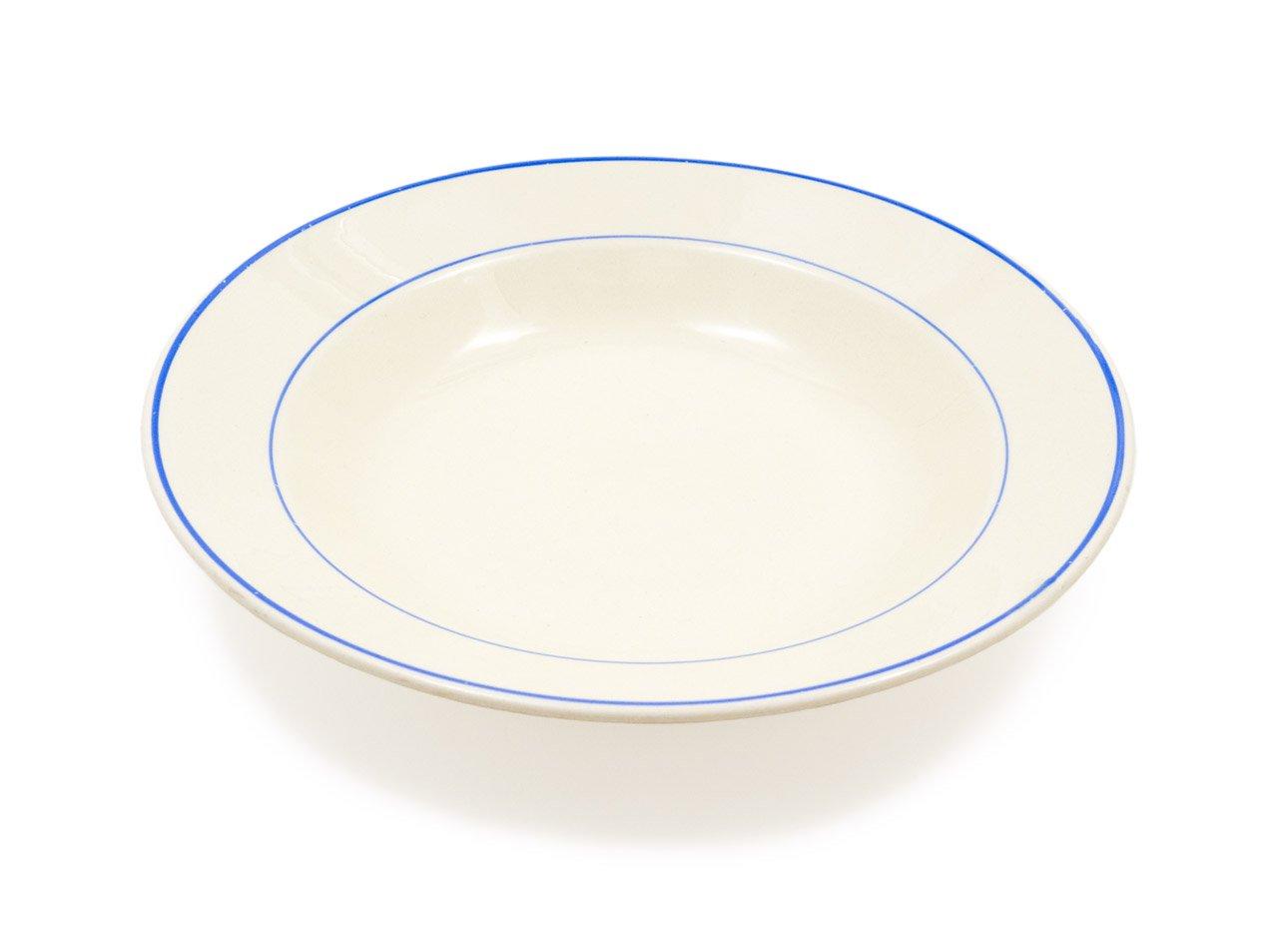 ARABIA ブルーライン スープ皿 01