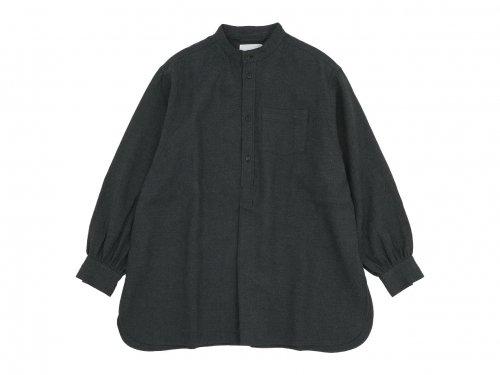 blanc housedress shirts linen wool SUMIKURO