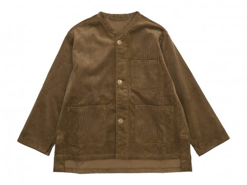 blanc needle work jacket KHAKI BEIGE