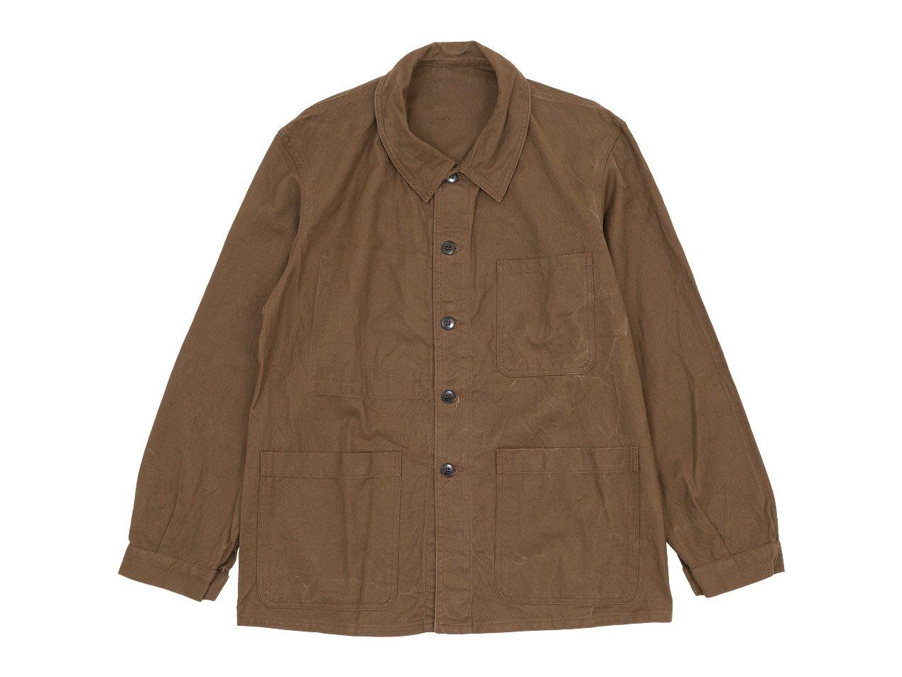 フレンチワークジャケット ブラウン