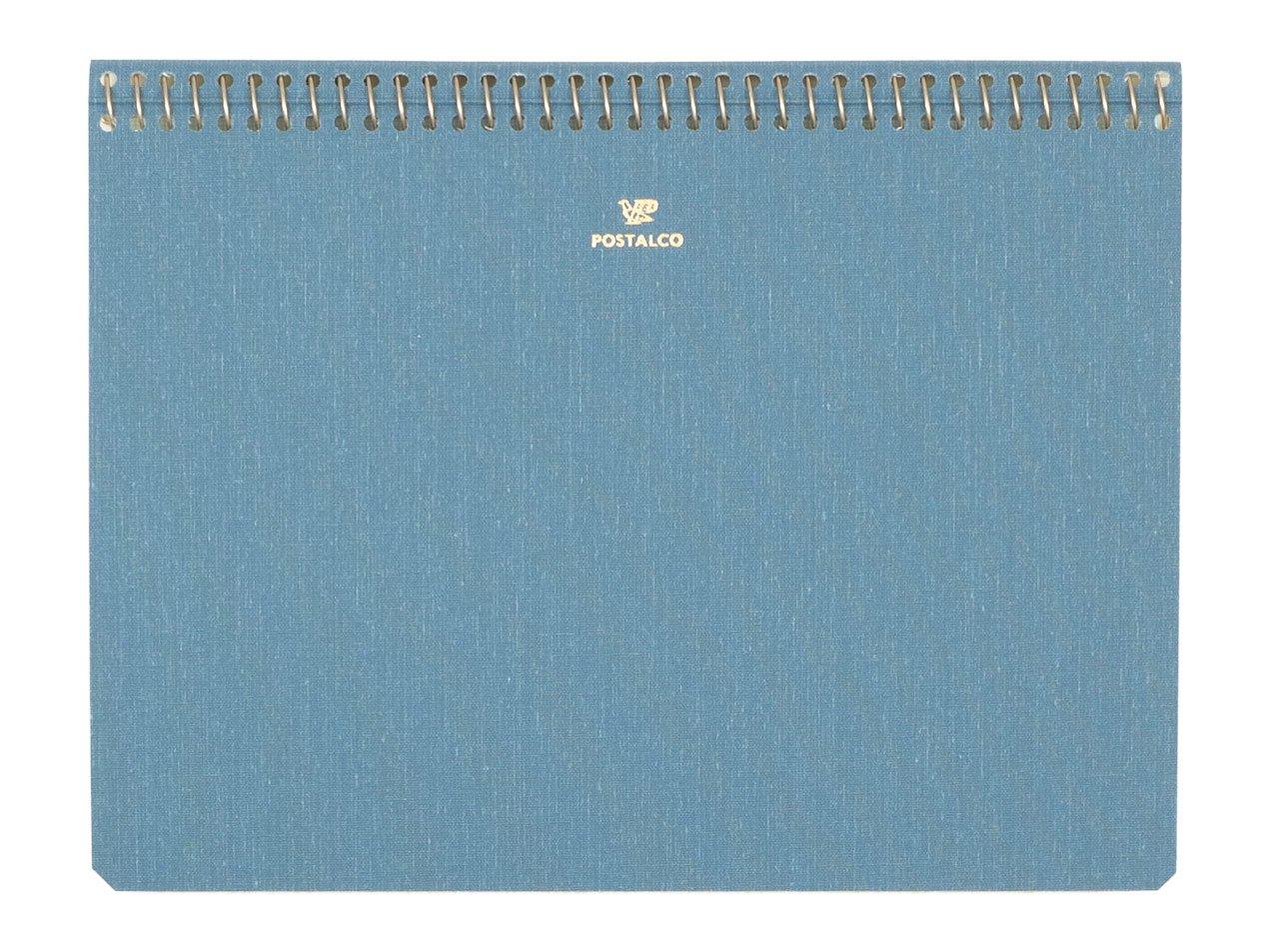 POSTALCO Notebook A5 Light Blue