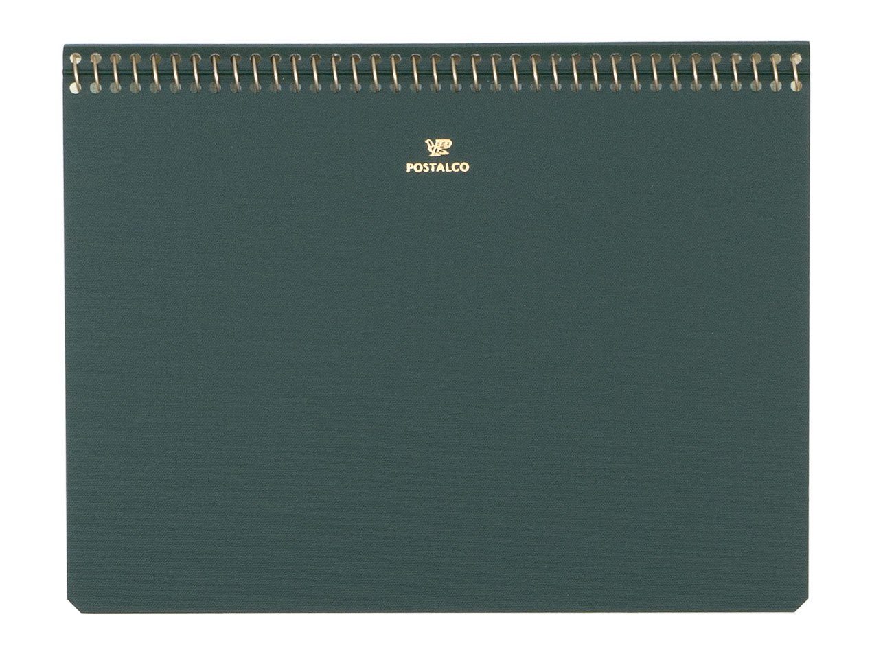 POSTALCO Notebook A5 Bank Green