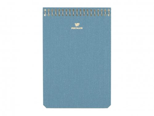POSTALCO Notebook A6 Light Blue