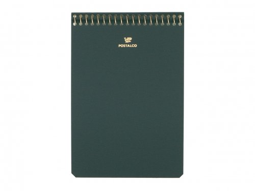 POSTALCO Notebook A6 Bank Green