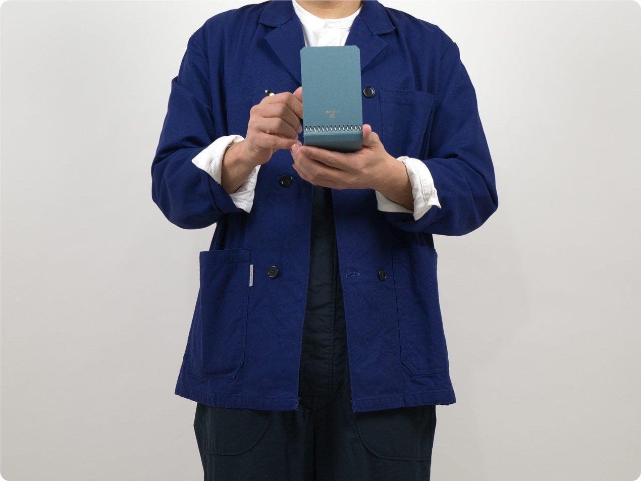 POSTALCO Notebook A7 Light Blue