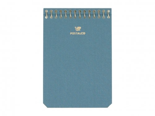 POSTALCO Notebook A7 Light Blue