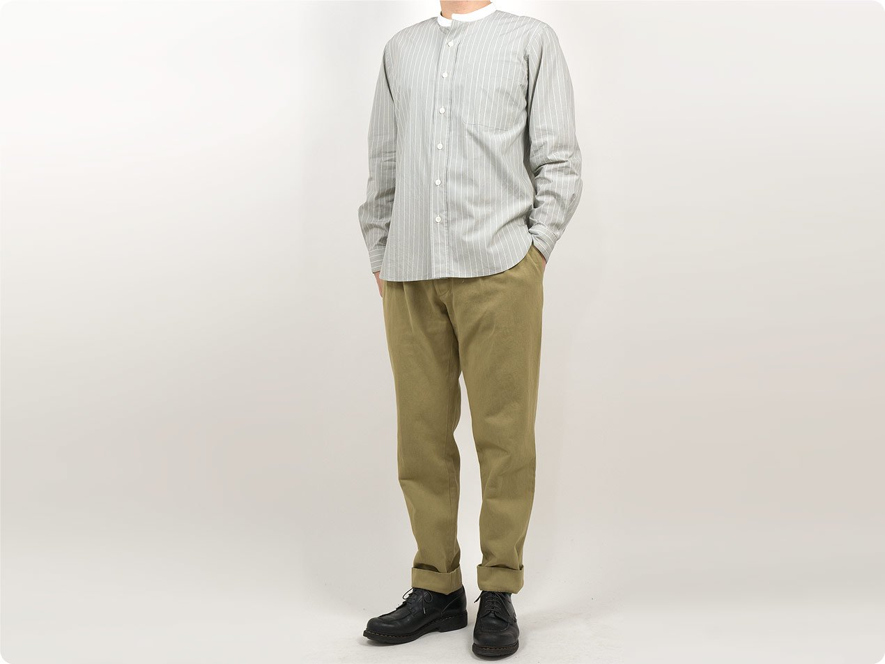 MARGARET HOWELL HEAVY COTTON DRILL TROUSERS〔メンズ〕