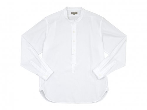 MARGARET HOWELL PLAIN COTTON POPLIN P/O SHIRTS 〔メンズ〕