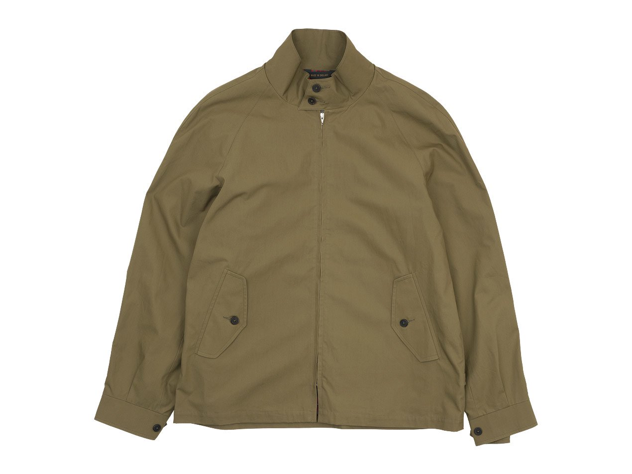 MARGARET HOWELL COTTON POPLIN BLOUSON 180KHAKI 〔メンズ〕