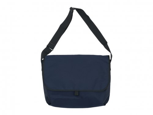 MARGARET HOWELL x PORTER CORDURA CANVAS MESSENGER BAG 120NAVY
