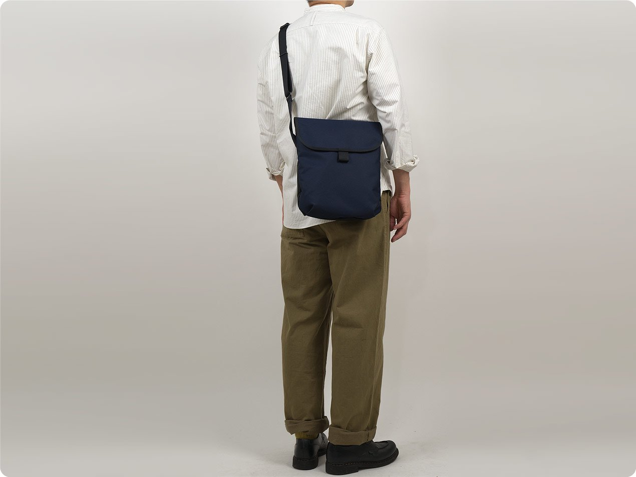 MARGARET HOWELL x PORTER CORDURA CANVAS A4 SIZE POUCH 120NAVY