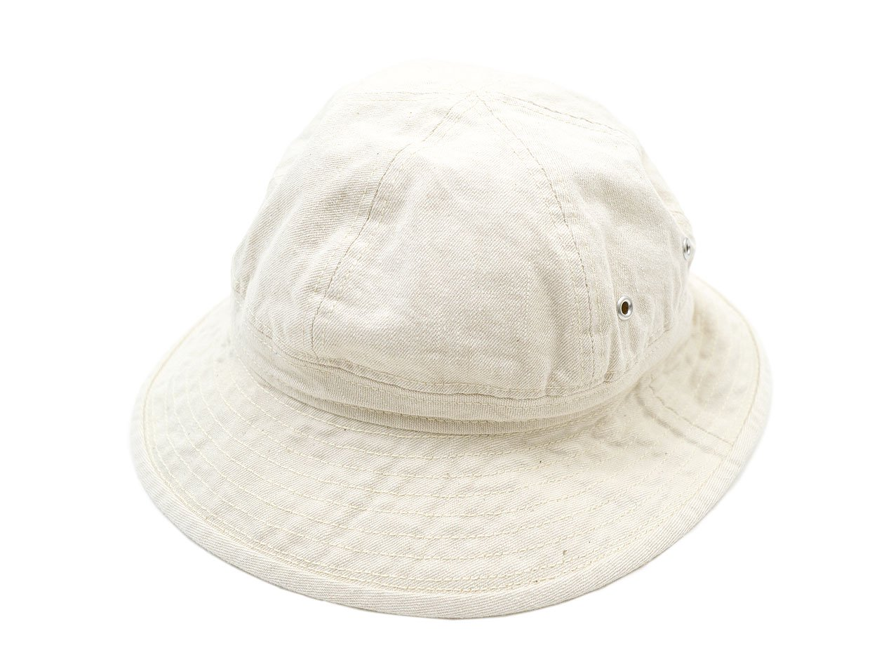 MHL. NATURAL DENIM HAT 042ECRU