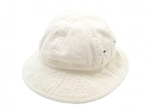 MHL. NATURAL DENIM HAT