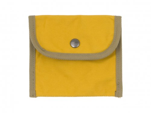 MHL. BASIC COTTON CANVAS POUCH SMALL 060YELLOW