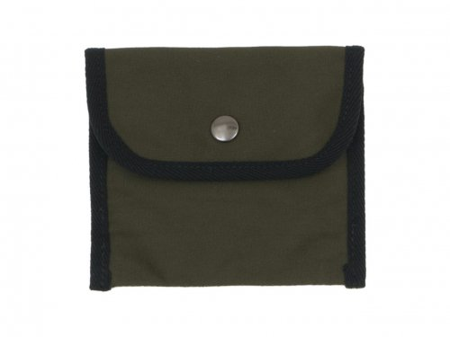 MHL. BASIC COTTON CANVAS POUCH SMALL 180KHAKI