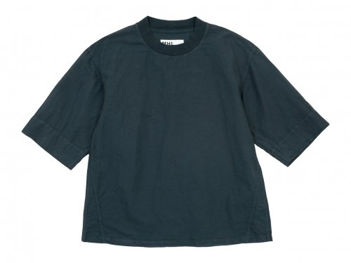 MHL. DRY COTTON LINEN PULLOVER 024GRAY 〔メンズ〕