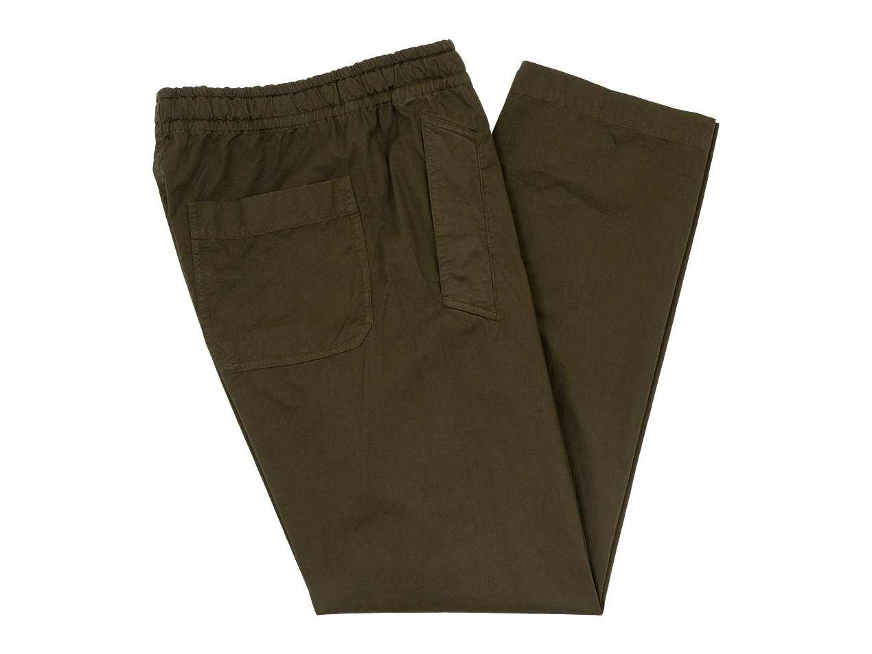 MHL. SUPERFINE COTTON TWILL TROUSERS 052BROWN〔メンズ〕