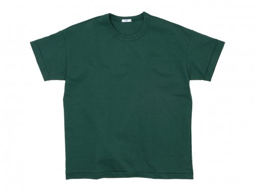 maillot super heavy cotton relax Tee GREEN