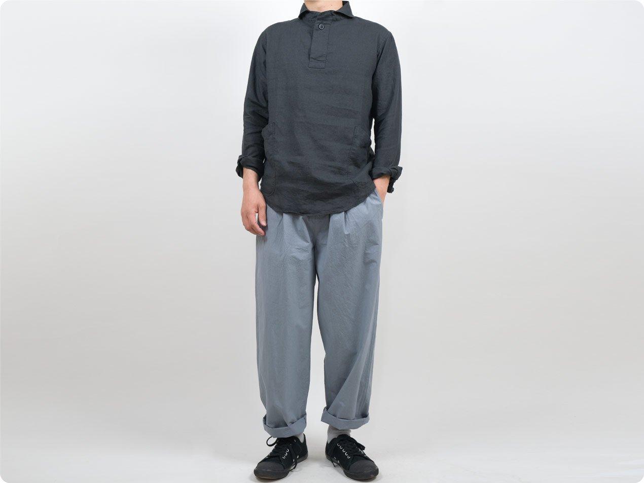 maillot mature rub cotton easy pants LIGHT GRAY
