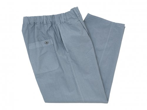 maillot mature rub cotton easy pants LIGHT GRAY