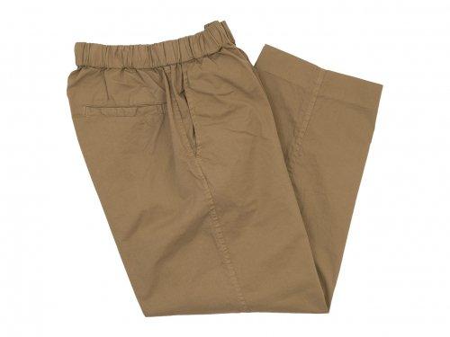 TOUJOURS Easy Field Trousers DUSTY BROWN 【SM32AP02】